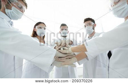 group of professional doctors