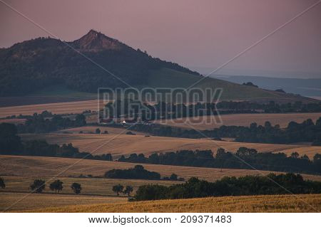 Fields In The Czechs, The Vastness Of The Hills