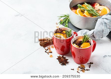 Christmas Hot Drink, Mulled Wine Ingredients