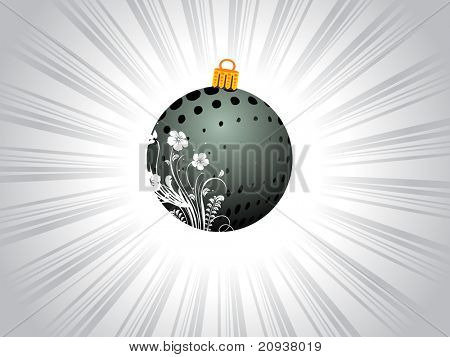 creative ball with excogitation, illustration background