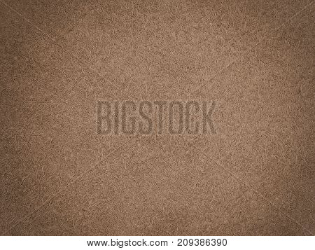 Brown chamois texture, fluffy and soft material