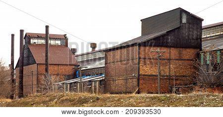 Old abandon steel factory near Detroit for Demolition