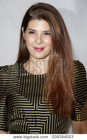 Marisa Tomei at the Hammer Museum Gala In The Garden held at the Hammer Museum in Westwood, USA on October 14, 2017.