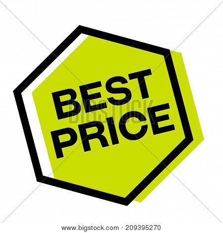 Best price sticker. Authentic design graphic stamp. Original series