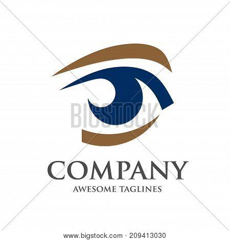 Eye Logo design vector template, Creative Vision Logotype concept