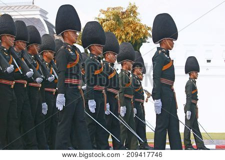 The Motion Of Royal Thai Army