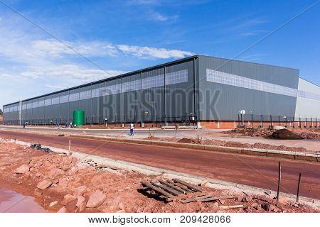 New Lareg Warehouse Building