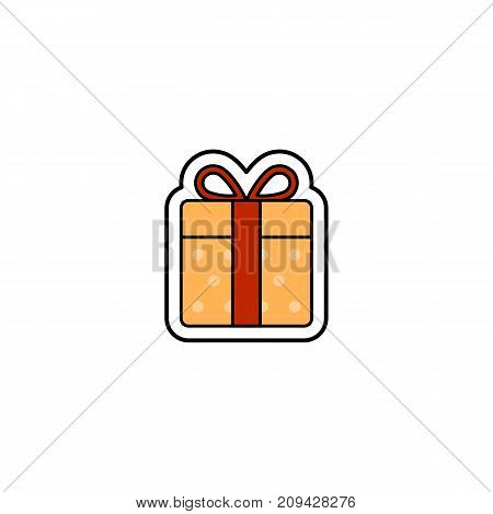 Vector illustration of Christmas presents. Christmas and New Year theme.