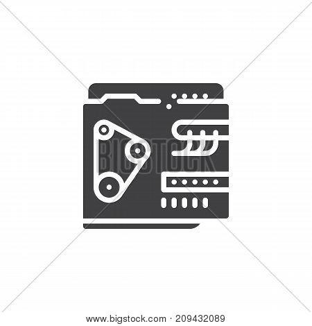Car Engine Icon Vector Photo Free Trial Bigstock
