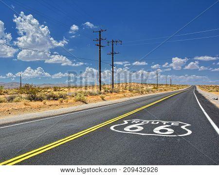 U.s. Route 66 Highway.