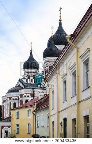 Saint Nicholas Orthodox Church in Tallinn, Estonia