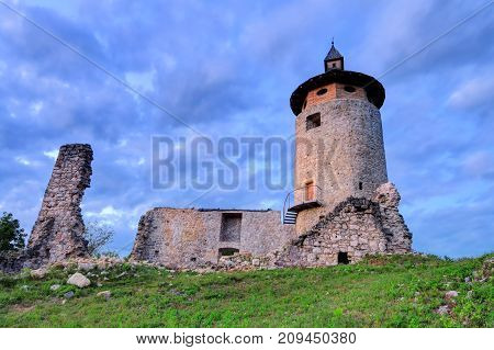 The castle Dreznik is an old castle ruin in Dreznik Grad Croatia.