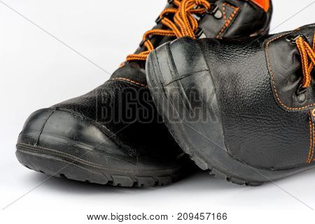 Shoes for work, boots with protection men's shoes