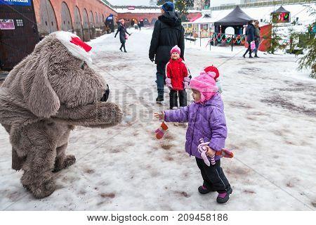 Christmas Fair In Hamina, Animators