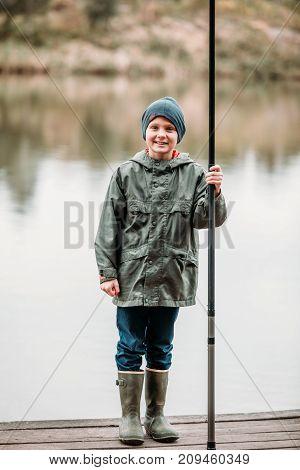 Little Boy With Rod