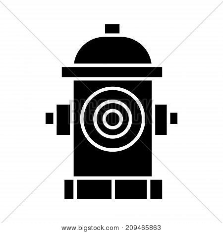 hydrant icon, illustration, vector sign on isolated background