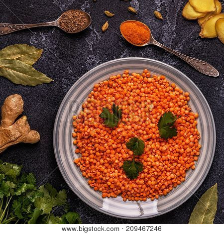 Lentils With Spices.