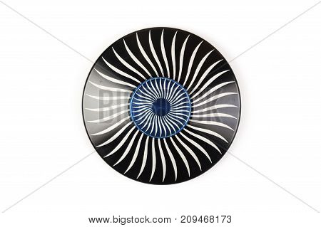 Colorful Fidget Spinner isolated on white background
