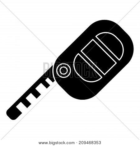 key auto icon, illustration, vector sign on isolated background