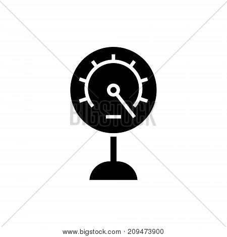meter-14 icon, illustration, vector sign on isolated background