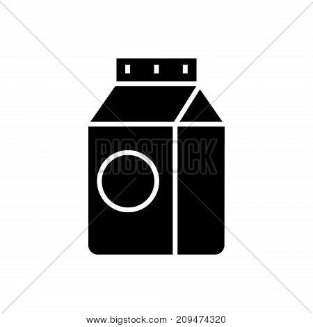 milk icon, illustration, vector sign on isolated background