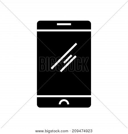 mobile tablet icon, illustration, vector sign on isolated background