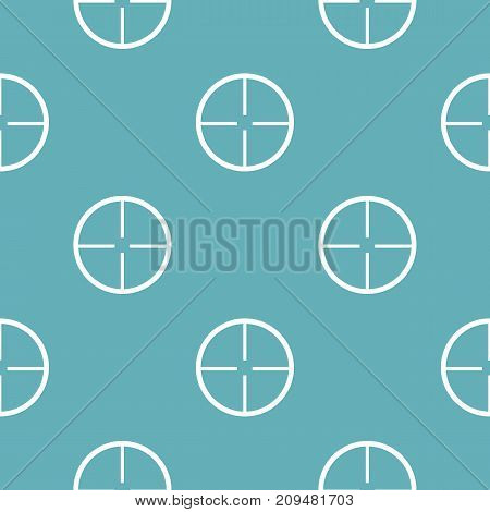 Aim pattern seamless blue. Simple illustration of  vector pattern seamless geometric repeat background
