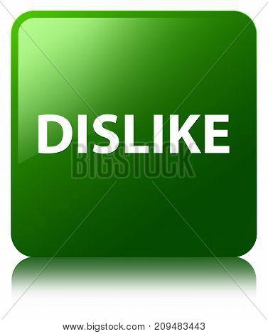 Dislike Green Square Button