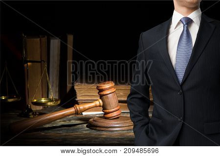 Justice law scales lawyer background closeup business