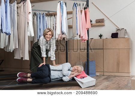 Man Falling Asleep While Waiting Woman