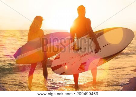 Female surf surfer surfers white view holiday