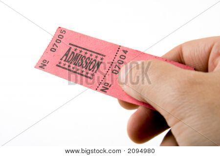 Handing Over A Ticket