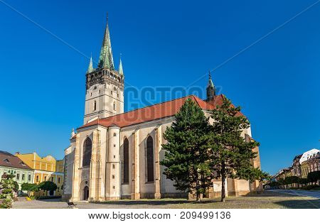 Co-Cathedral of Saint Nicholas in Presov. One of the oldest and most important churches in Slovakia