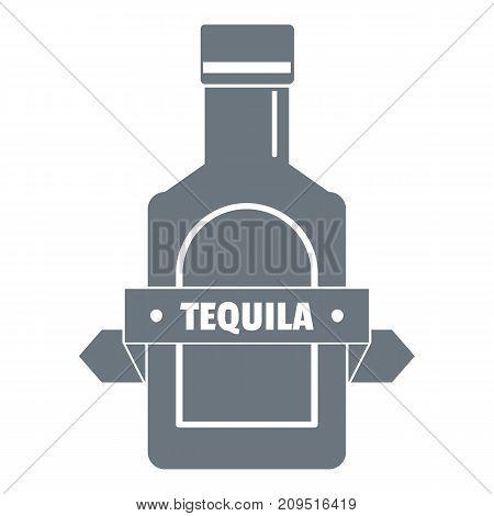 Tequila logo. Vintage illustration of tequila vector logo for web