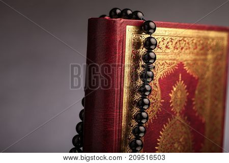 Book islam islamic koran background beautiful greeting