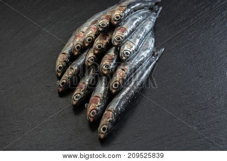 Fresh Anchovies Ready To Cook,