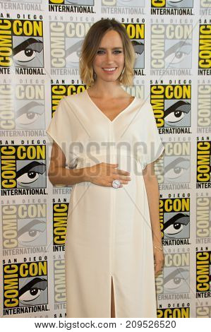 San Diego, CA - July 20, 2017: Ruta Gedmintas of FX's The Strain arrives at Comic Con 2014 in San Diego, CA.
