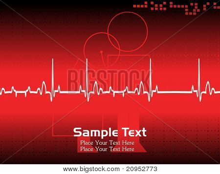vector illustration of medical background