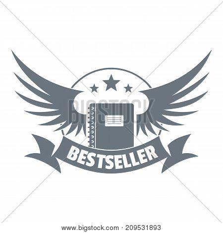 Bestseller logo. Vintage illustration of bestseller vector logo for web