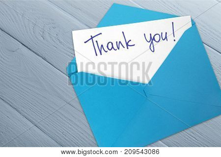 Card you envelope thank nobody copy paper