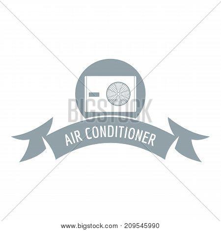 Electric conditioner logo. Simple illustration of electric conditioner vector logo for web
