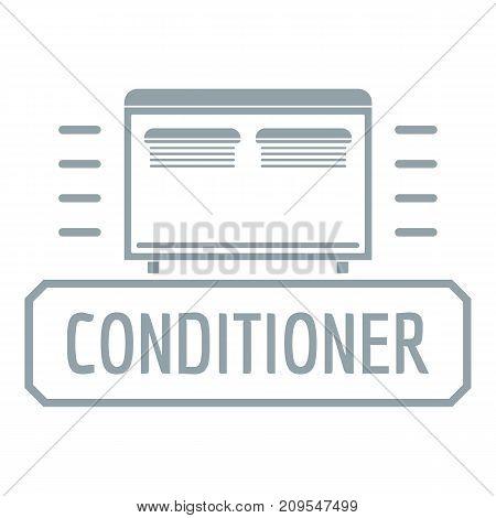 Conditioner logo. Simple illustration of conditioner vector logo for web