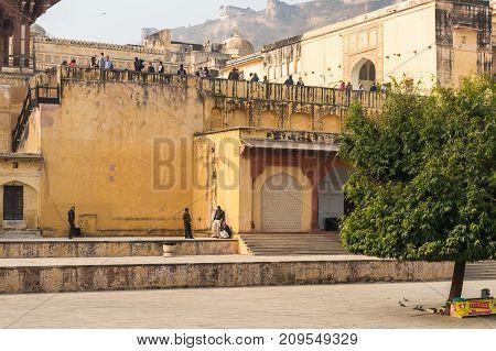 Amber Palace, Jaipur, Rajasthan State, India