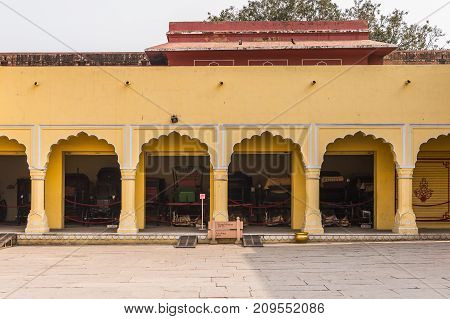City Palace, A Palace Complex In Jaipur, Rajasthan, India