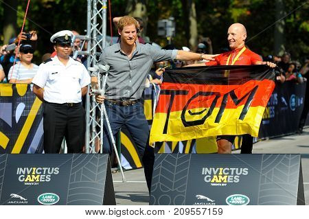 Prince Harry During Invictus Games