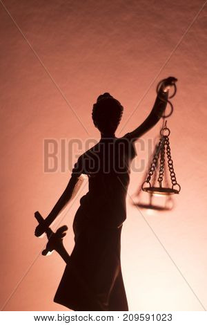 Legal Justice Law Statue