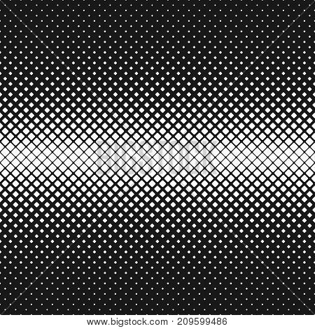 Abstract geometric black and white rounded square pattern background - vector illustration with diagonal squares