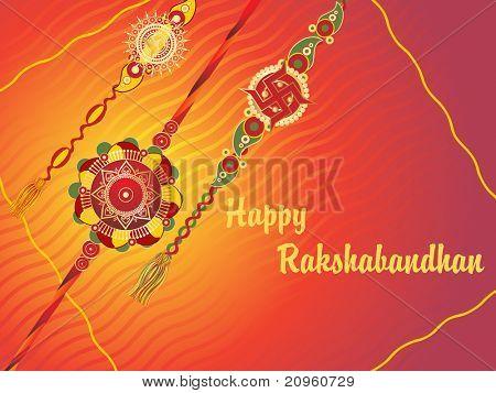 creative illustration for rakshabandhan celebration poster