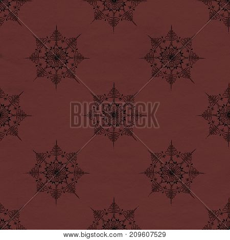 Ornate abstract color mandala element. Can be used for wallpaper, pattern fills, web page background, surface textures