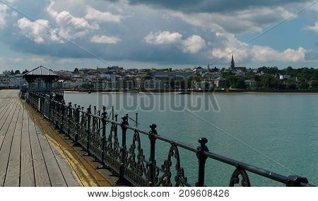 View of Ryde on the Isle of Wight from the Pier